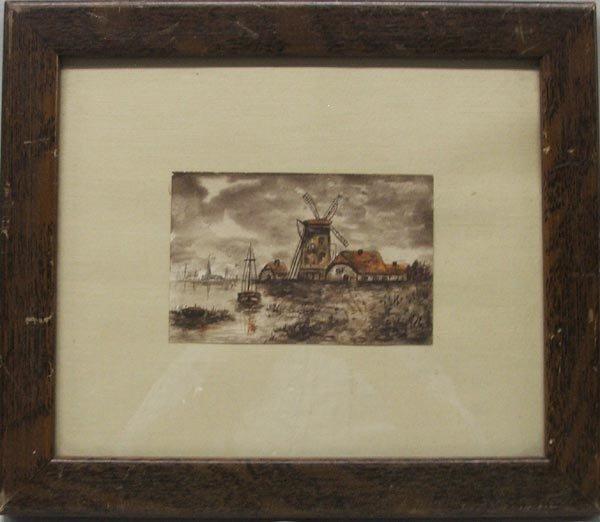 Original Dutch Watercolor