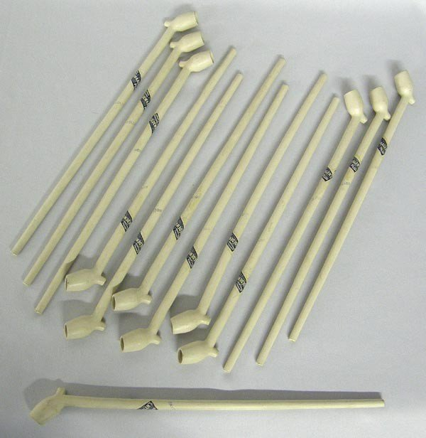 13 Clay Pipes Stamped Gouda Holland