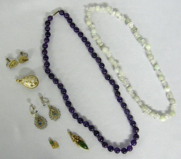 Collection of Semi Precious Jewelry