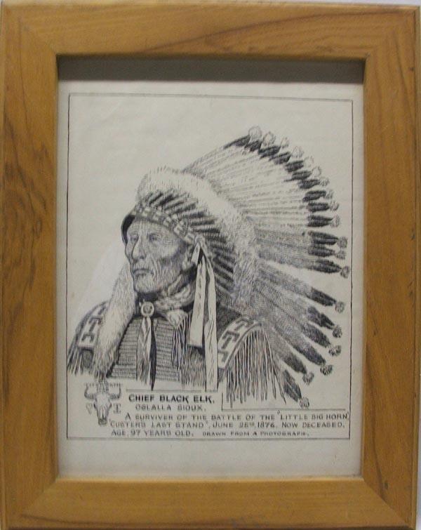 1956 Original Drawing by B.D. Titsworth