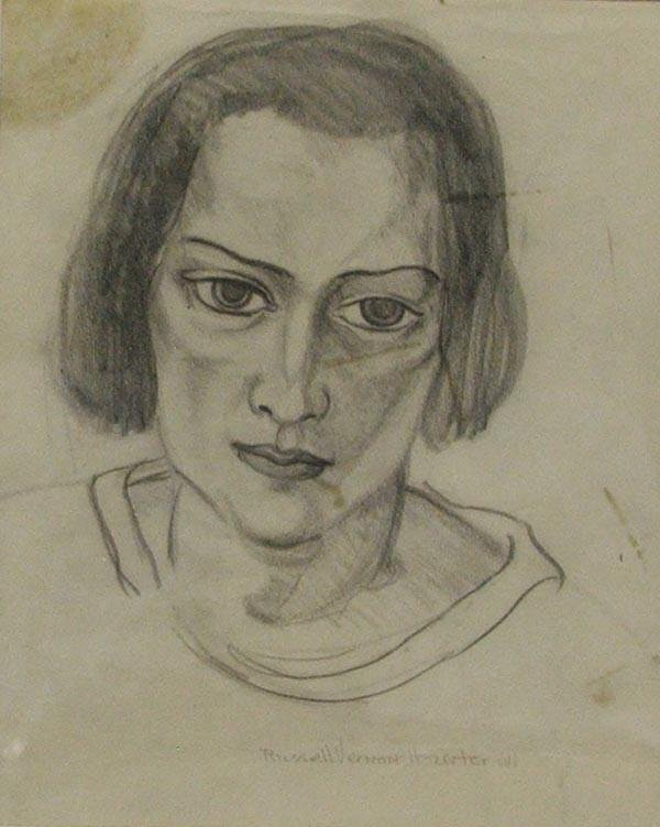 Original Sketch by Russell Vernon Hunter - 2