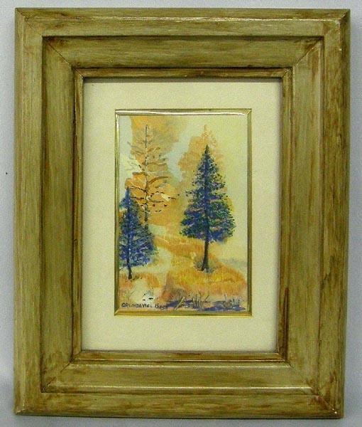 Original Framed Watercolor by Orlinda Vigil Keers