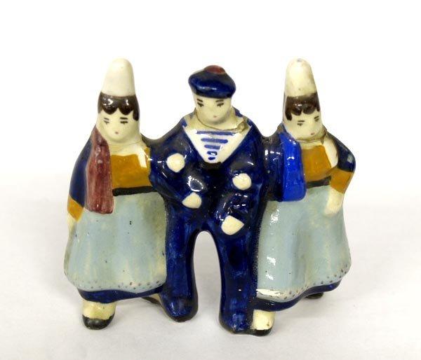 Quimper Henriot Franco Fine Porcelain Figurines