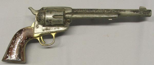 5 Vintage BB Guns and Model Cowboy Pistols - 4