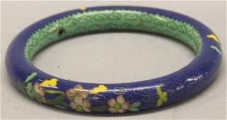Cloissone Bangle Bracelet