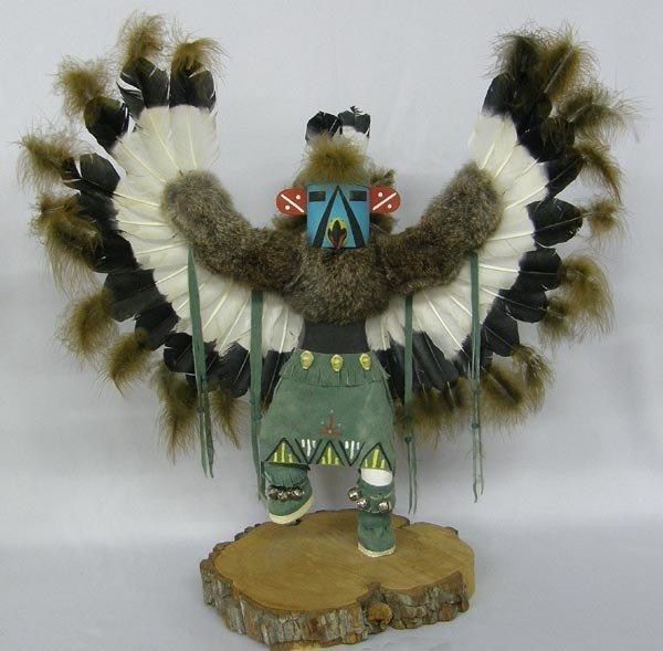 Navajo Eagle Kachina Signed H.H. Arciellito