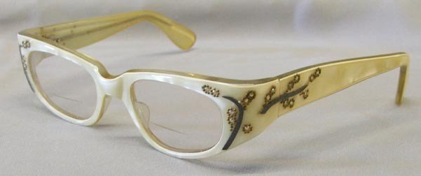 1950's Rhinestone Glasses