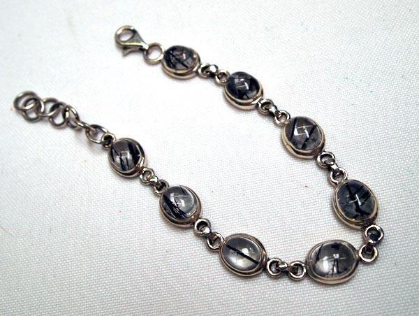 Black Tourmaline Quartz Bracelet