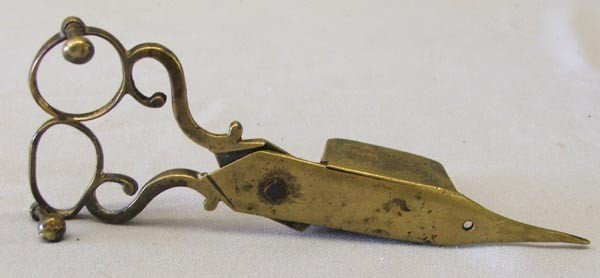 Antique Brass Candle Snuffer - 2