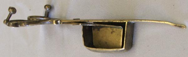 Antique Brass Candle Snuffer - 5