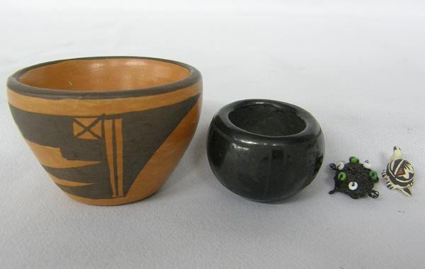 4 Native American Miniatures