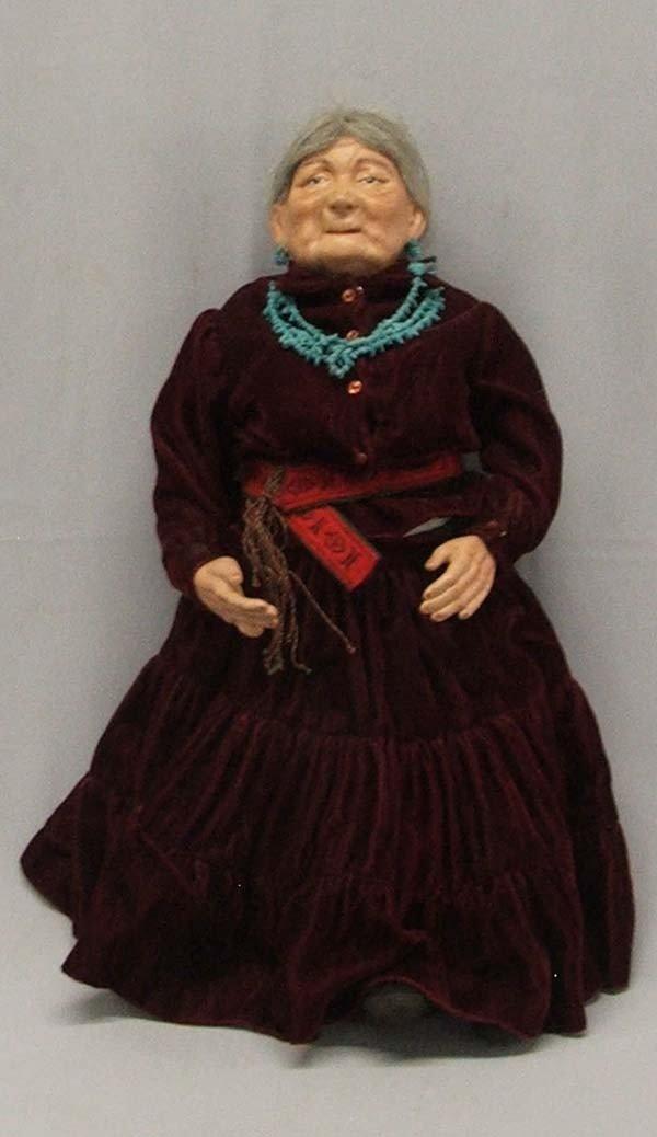 Navajo Grandmother  Doll