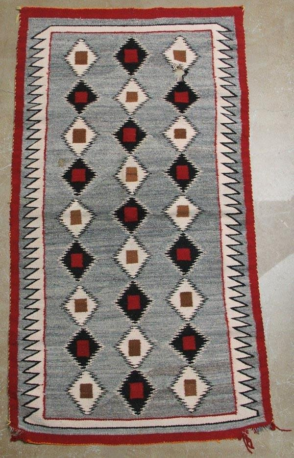 Vintage Navajo Textile Rug