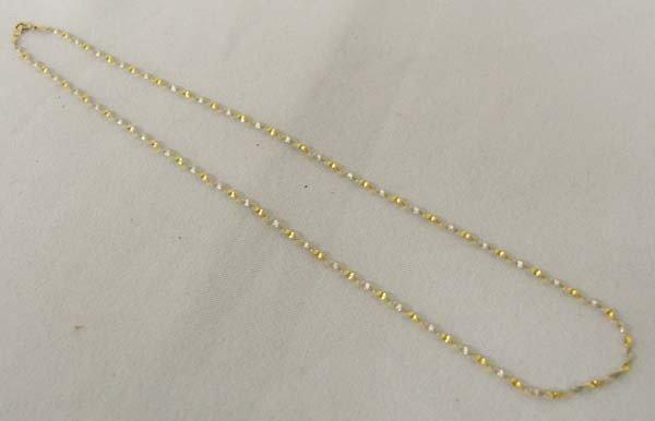 14Kt Italian Gold Twist Chain Necklace