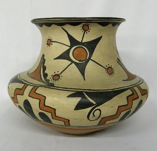 1910-20 Historic San Ildefonso Pottery Jar