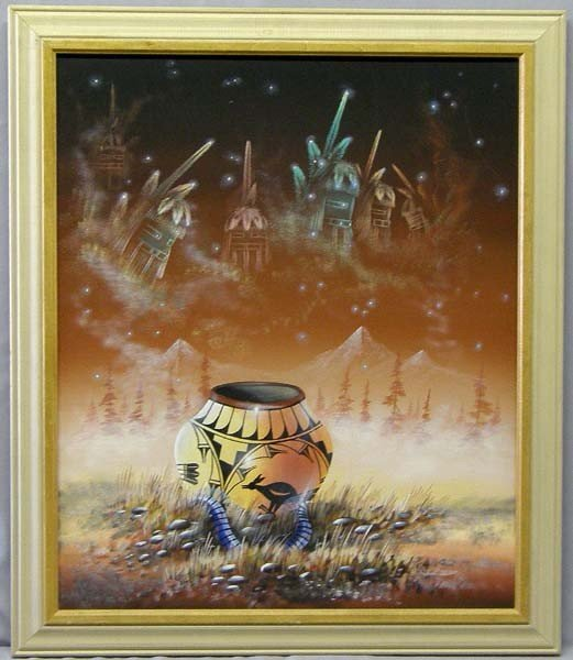 Original Acrylic by Santa Fe Artist Jim Valenito