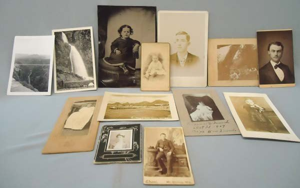 13 Turn Of The Century Photographs & Tintype