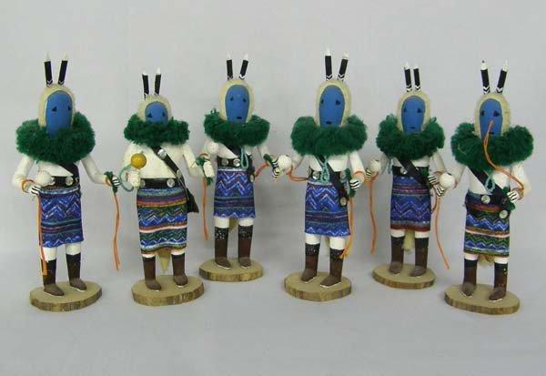6 San Carlos Apache Kachina Dancers
