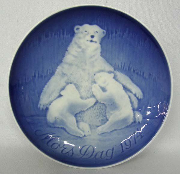 1974 Danish Mother's Day Plate