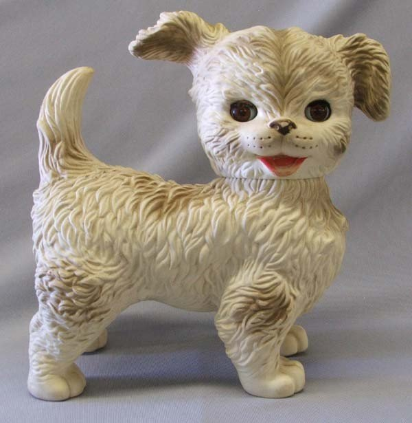 Vintage 1960s Rubber Puppy Toy Edward Mobley