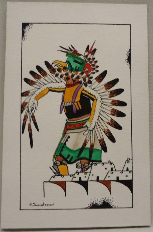 Original Hopi Painting Signed