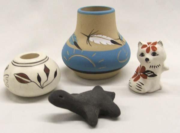 4 Southwestern Miniature Pottery