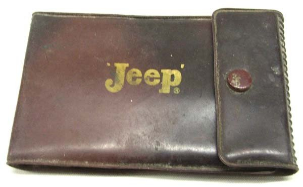 Vintage Jeep Knife Tool Kit