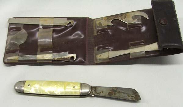 Vintage Jeep Knife Tool Kit - 3