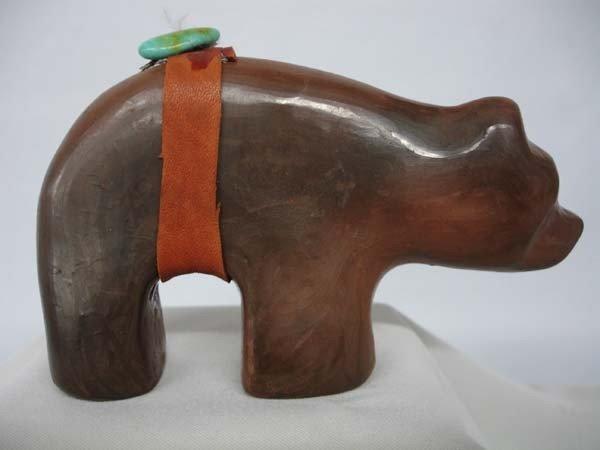 Navajo Clay Bear Fetish by Laleka