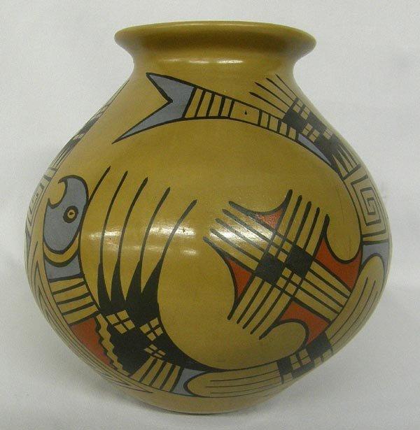 Mata Ortiz Polychrome Pot by Jesus Tena