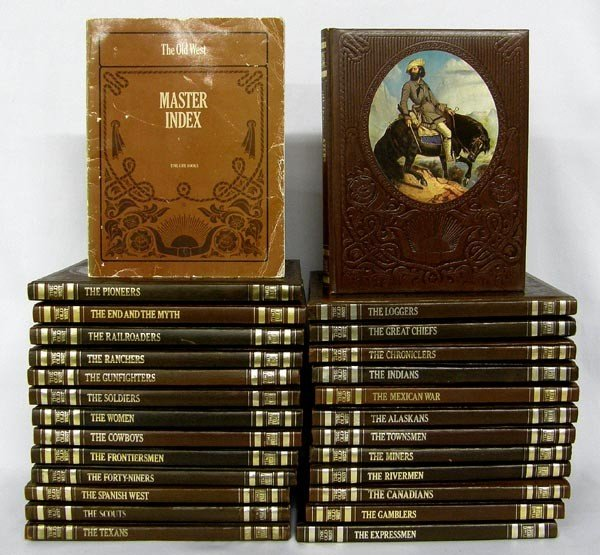 Complete Time/Life 26 Volume Set of The Old West
