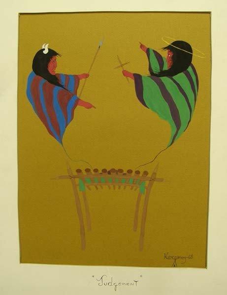 1968 Creek Original Painting by Jackson Narcomey