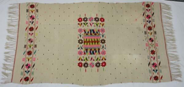 1940 Mexican Textile Rug