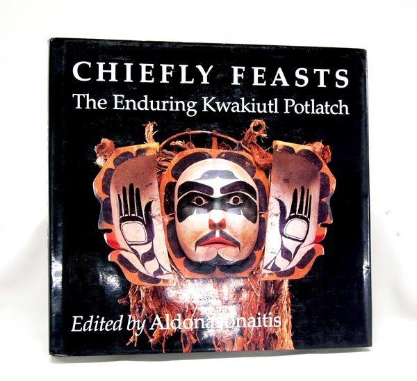 Hardback Book on Kwakiutl Indians-''Chiefly Feasts''