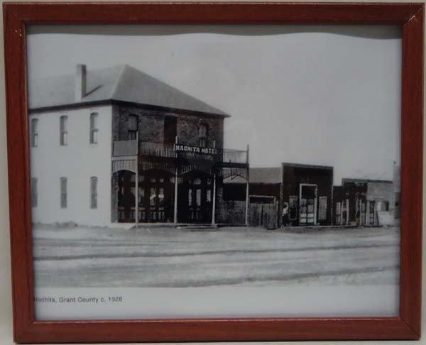Photographic Print Of Hachita New Mexico c. 1928