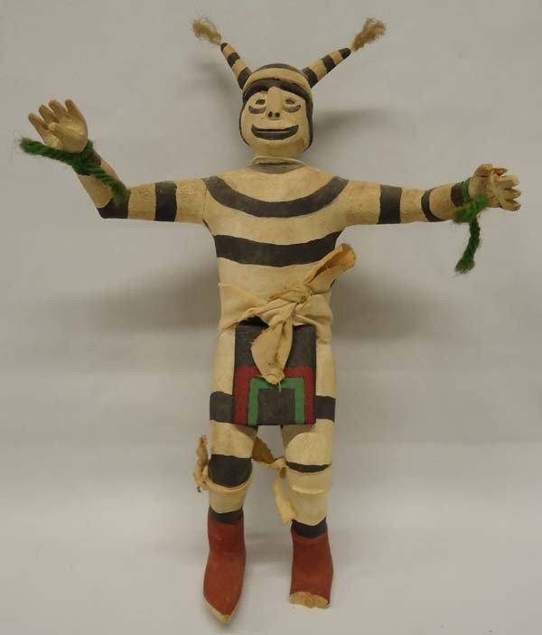 Vintage Hopi Clown Kachina