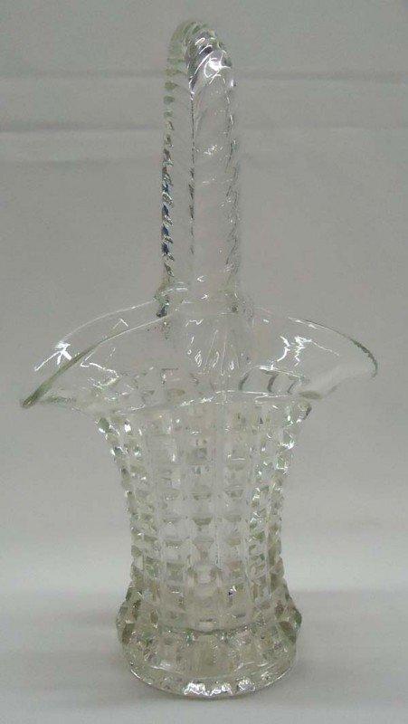 Antique Depression Glass Brides Basket