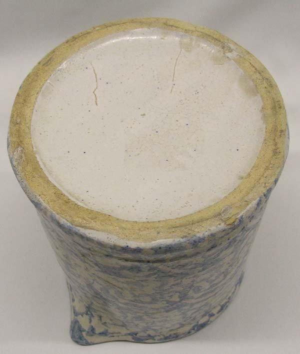 Vintage Splatterware Crock Pitcher - 4