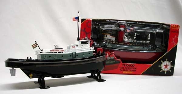2 Texaco Nautical Series Tugboat Bank Models