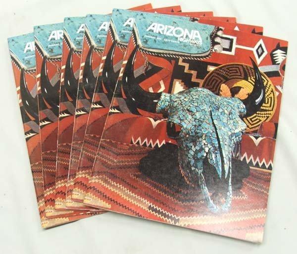 6 Copies Arizona Highways Magazine ''January 1974''