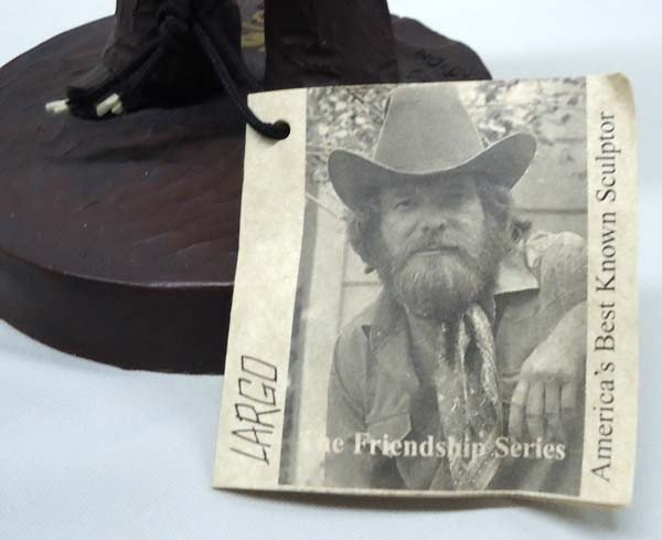 Cowboy Limited Edition Sculpture By Largo - 2