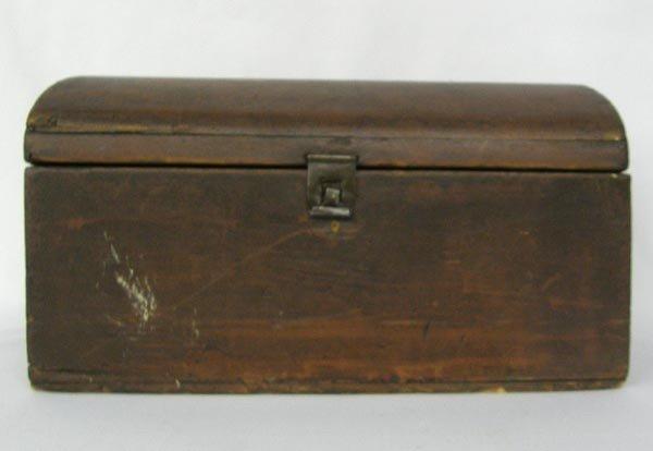 Antique Wooden Bread Box
