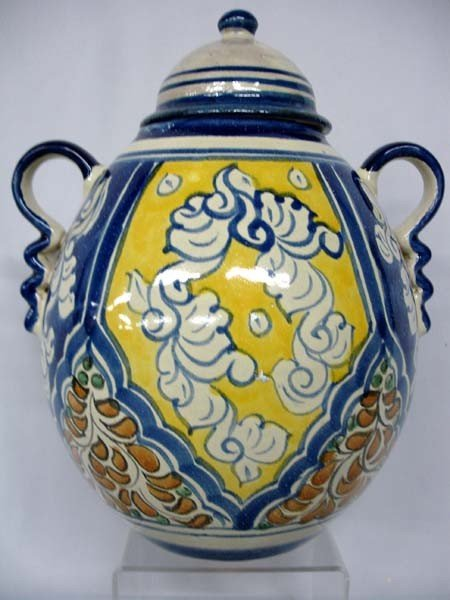 Talavera Olla With Lid and Handles