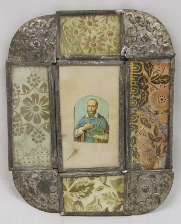 Tin Devotional Frame