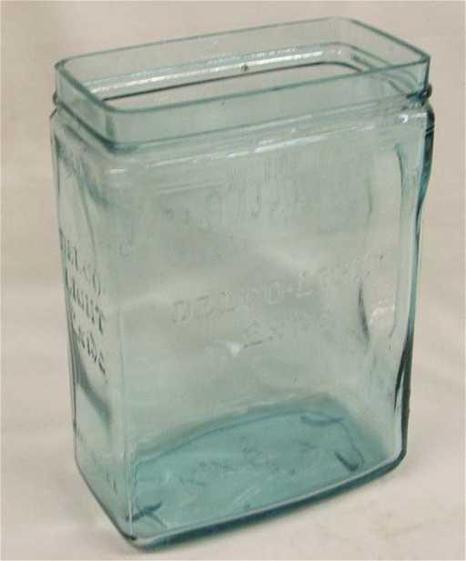 Antique Glass Battery Jar Delco Light Exide