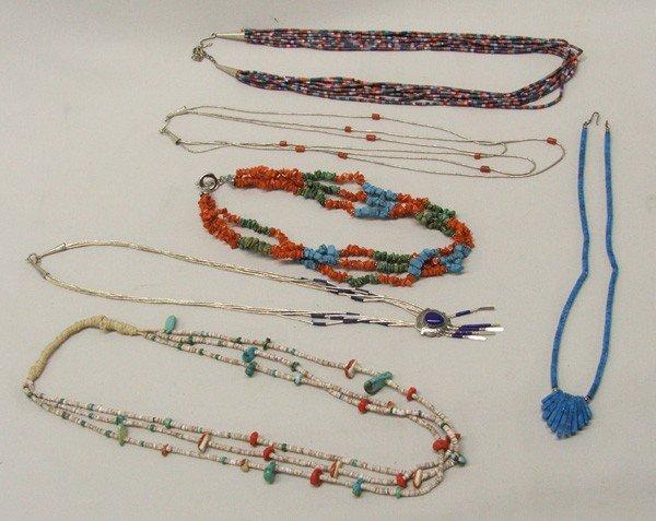 6 Southwestern Necklaces