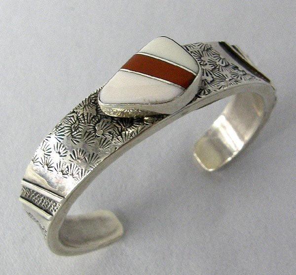 Native American Navajo Bracelet by Thomas Charlie