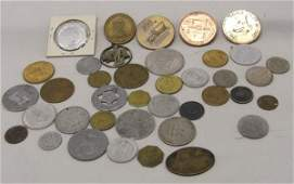 36 Plus Collection of Misc Tokens