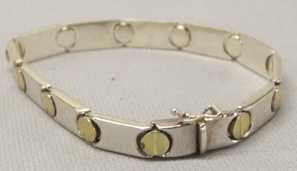 Sterling Silver Italian Link Bracelet