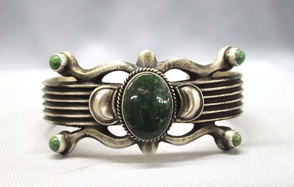 Native American Navajo Bracelet by Martha Cayonita
